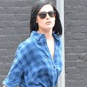 Rumer Willis Shows Off Her Pasty Stems In Hollywood