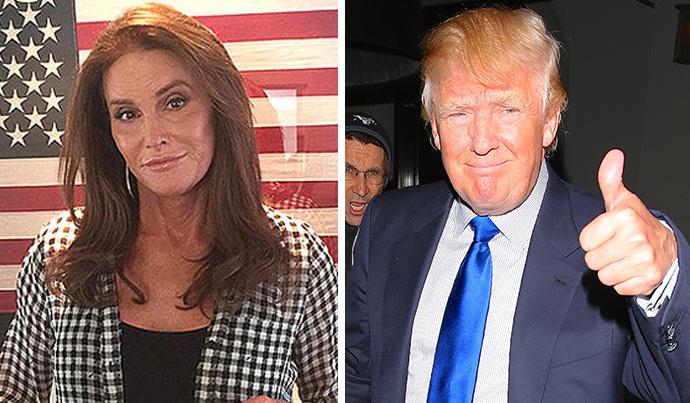 Caitlyn Jenner Thinks Trump
