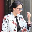 Kendall Jenner Is A Hippie Chic In Bell Bottoms After Her <em>Allure</em> Photoshoot In NYC