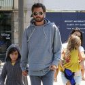 Kourtney Kardashian, Scott Disick And The Kids Join Kimye At The Movies