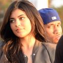 """<em><span class=""""exclusive"""">FIRST PHOTOS</span></em> - Kylie Jenner And Tyga Back Together At Kanye West's """"Famous"""" Premiere"""