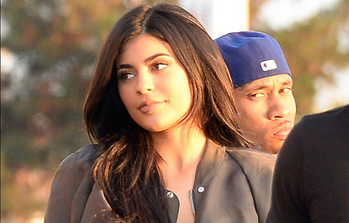 FIRST PHOTOS - Kylie Jenner And Tyga Back Together At Kanye West's