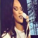 Rihanna Breaks Down In Tears During Her Dublin Concert
