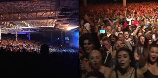 Blake Shelton Backs Up Gwen Stefani After Rumors Claim That Her Concert Was Empty - X17 Online - X17 Online