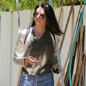 Kendall Jenner Drives Boyfriend Jordan Clarkson's Pricey Mercedes To Check On Construction At Her New Weho Home