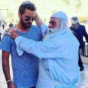 Scott Disick Gets Blessed By A Rabbi While On Vacation In Israel