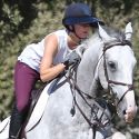 Kaley Cuoco Gets Some Air With Her Four-Legged Friend
