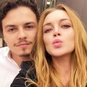 Lindsay Lohan Claims Fiance Was Abusive, Hints That They've Broken Up