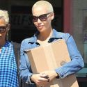 Amber Rose Wears Skintight Jeans During A Break From <em>DWTS</em>