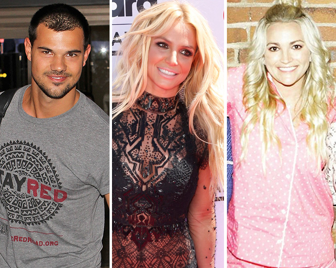 Britney Spears Once Tried To Set Up Taylor Lautner With Her Sister
