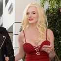 Courtney Stodden Leaves Her Fake Baby At Home, Shows Off Her Fake Boobies