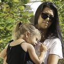 Kourtney Kardashian And Scott Disick Reunite For A Movie Date With The Kids