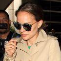 Natalie Portman Returns To LA After Debuting Baby Bump In Venice