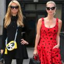 Nicky Hilton Shows Off Post-Baby Bod With Sis Paris At Jeremy Scott Show During NYFW