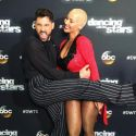 Amber Rose Posts Sweet Note To <em>DWTS</em> Partner Maksim Chmerkovskiy After Elimination