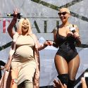 "<em><span class=""exclusive"">MUST-SEE PHOTOS</span></em> - Pregnant Blac Chyna Does The SlutWalk With Amber Rose!"
