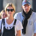Chris Martin And Girlfriend Annabelle Wallis Are In Domestic Bliss While Grocery Shopping
