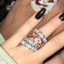 Khloe Kardashian And Boyfriend Tristan Thompson Flaunt Matching Bling On Social Media