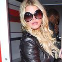 Jessica Simpson Isn't Too Busy To Show Off Her Plump Pout And Strike A Pose At LAX
