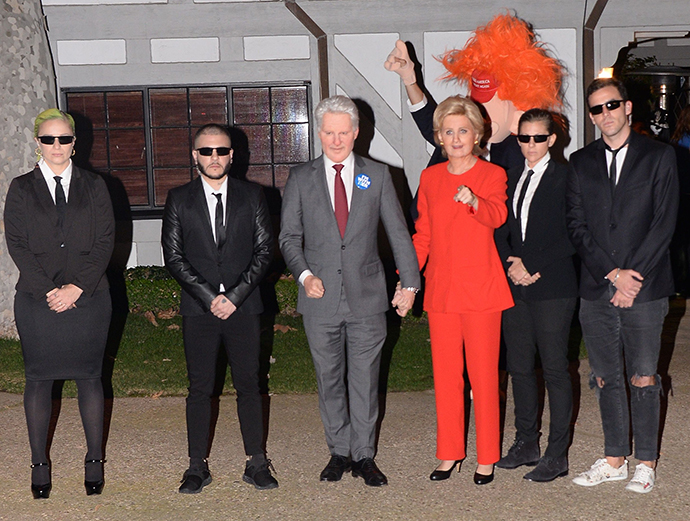 katy perry and orlando bloom get presidential at kate hudsons wild halloween party - Halloween On The Hudson