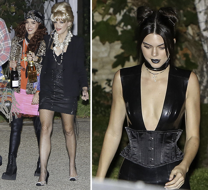 a listers party it up at kate hudsons annual halloween bash - Halloween On The Hudson