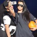 Blac Chyna Gets Chummy With Kourtney Kardashian At The Pumpkin Patch