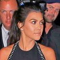 Kourtney And Kris Are Back In Black At Skincare Line Event