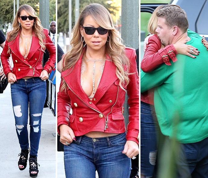 Mariah Carey And James Corden Belt It Out In Carpool Karaoke - X17 ...