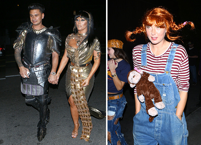 Pauly D Aubrey ODay Maria Sharapova And More Go All Out For Halloween Bash