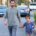 Scott Disick Is On Daddy Duty With Mason As Kourtney Kardashian Comforts Kim