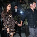 Nick Lachey And Pregnant Wife Vanessa Have A Parents' Night Out