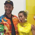 Miley Cyrus And Liam Hemsworth Dress Wild For Friend's Gallery Opening