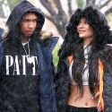 "<em><span class=""exclusive"">EXCLUSIVE PHOTOS</span></em> - Kylie And Tyga Enjoy The Rain, King Kylie Shows Off Insane Abs"