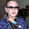 Carrie Fisher Suffers Massive Heart Attack Aboard Flight