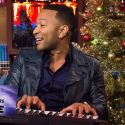 John Legend Sings A Song Written By Joe Giudice, Talks Sex Life With Chrissy Teigen On <em>WWHL</em>