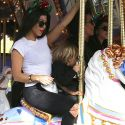 Kourtney And Kris Take Mason To Disneyland To Celebrate His 7th Birthday