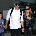 LeAnn Rimes And Eddie Cibrian Bring Their Boys Back Home For The Holidays