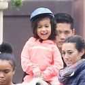 "<em><span class=""exclusive"">EXCLUSIVE PHOTOS</span></em> - Nori Goes Horseback Riding In Malibu"