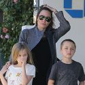 "<em><span class=""exclusive"">MUST-SEE PHOTOS</span></em> - Angelina Jolie Takes Twins Vivienne And Knox Shopping In Malibu"