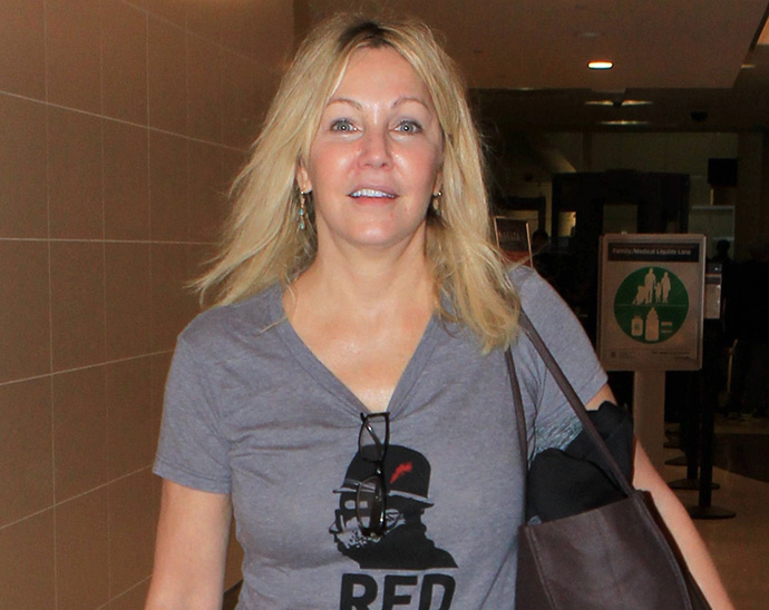 Heather Locklear reportedly back in rehab