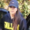 Kourtney Kardashian Holds Down The Fort As Scott Disick Parties