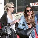Lea Michele And Emma Roberts Do Lunch As The <em>Glee</em> Star Is Set To Drop Her Next Album