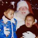 Saint West Isn't A Fan Of Santa Claus