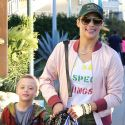 Paula Patton Spends Time With Son Julian Amid Bitter Custody Battle With Robin Thicke