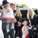 Jessica Simpson Flies Out Of Town With Her Adorable Family