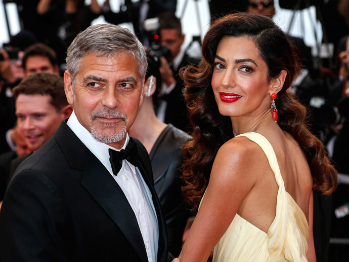 George Clooney really excited about having twins