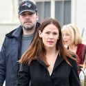 Ben Affleck Shows His Patriot Pride For A Day With Jen And The Kids
