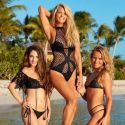Christie Brinkley Poses For <em>SI</em> Swimsuit Edition At Age 63 With Her Daughters