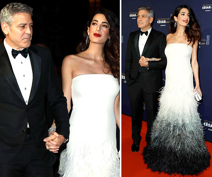 Clooney dismisses rumours about girl and boy twins