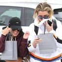 Khloe And Kourtney Cover Up After Getting Facial Treatments